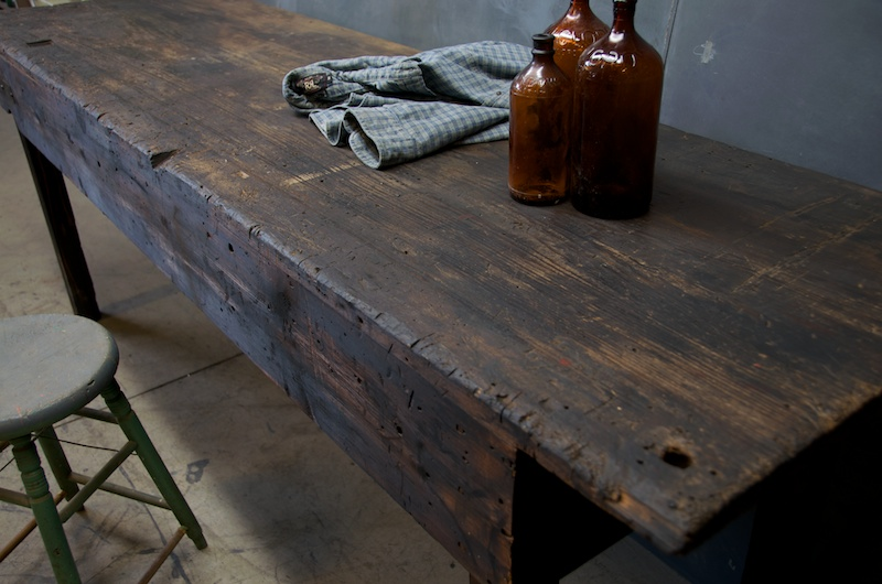 SOLD - Country Carpenter's Workbench, Kitchen Island - Harp