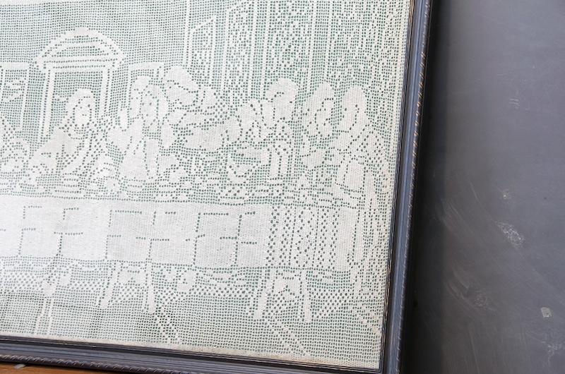 Large Last Supper Jesus Crochet Modern50 A Non Linear Design