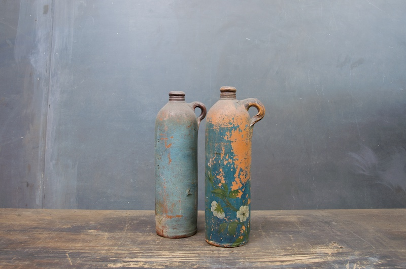 Old Clay Moonshine Jugs and