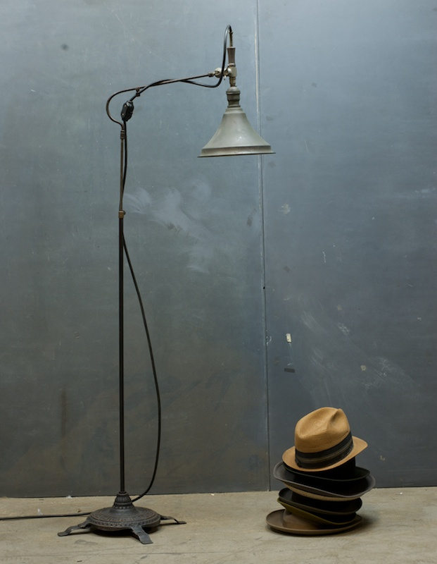 Late Victorian Articulated Floor Lamp : 20th Century Vintage ...