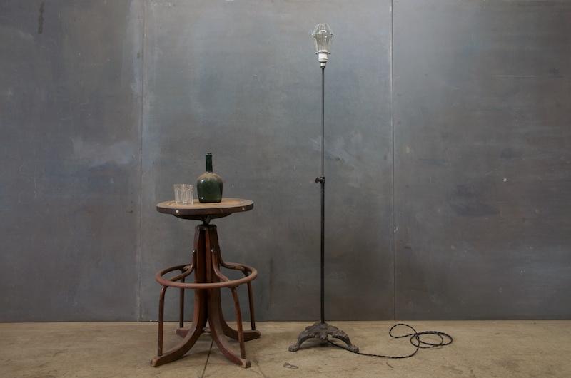 Antique Lamp Lighting Antique Iron Floor Lamp