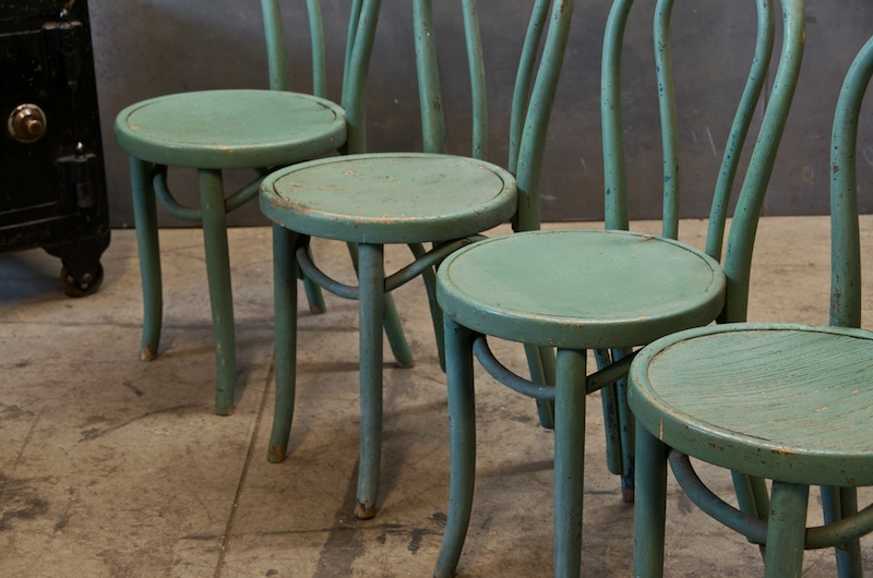 Bon Vintage New York Bentwood Cafe Chairs
