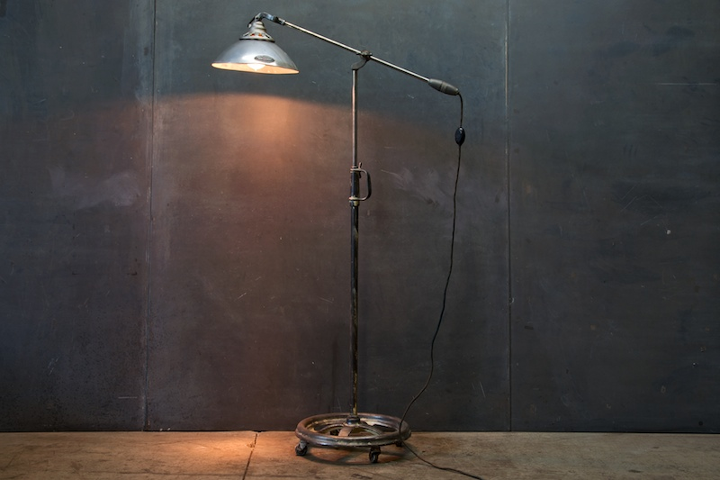 Articulated Floor Lamp | Interior Home Design | Home Decorating