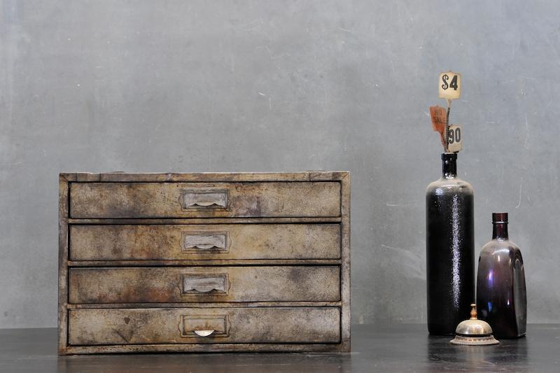 Autohaus Desktop Steel Thin Drawer Cabinet