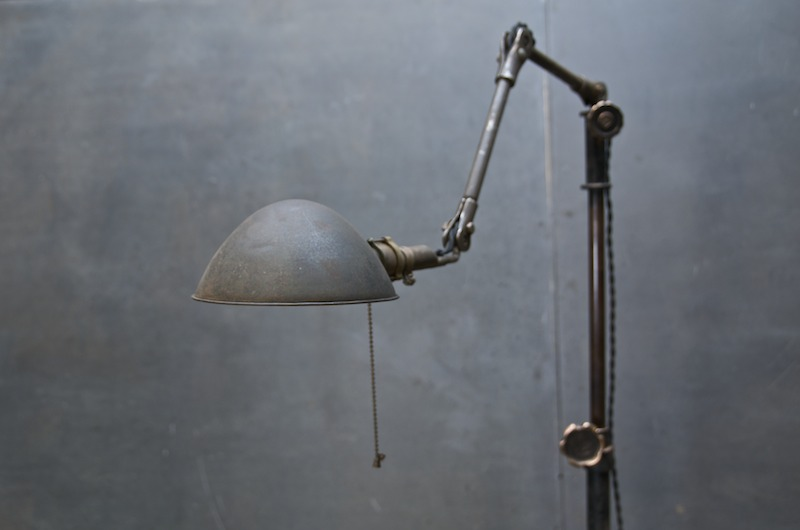 Vtg Industrial Articulated Floor Lamp : 20th Century Vintage ...