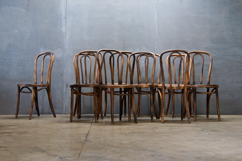 Vintage Thonet Bentwood Cafe Chairs