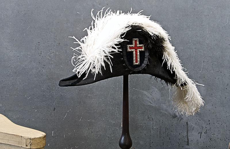 Old Freemason Regalia Colonial Hat   Modern50   A Non-Linear