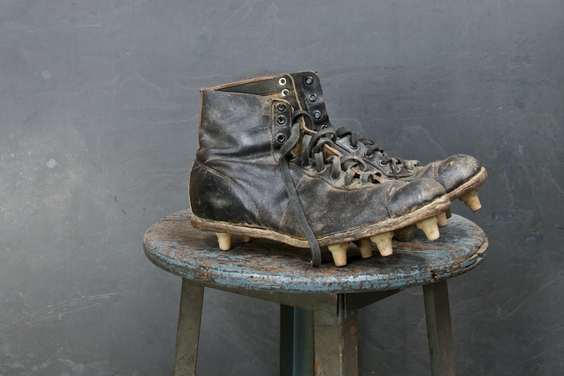 Yale Hyde Leather Football Cleats