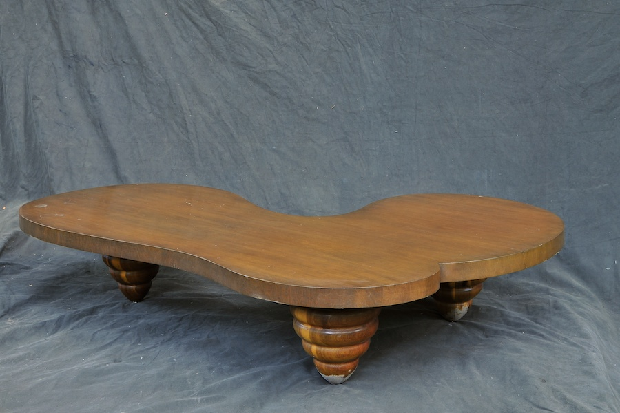 Billy Haines Biomorphic Mesa Table