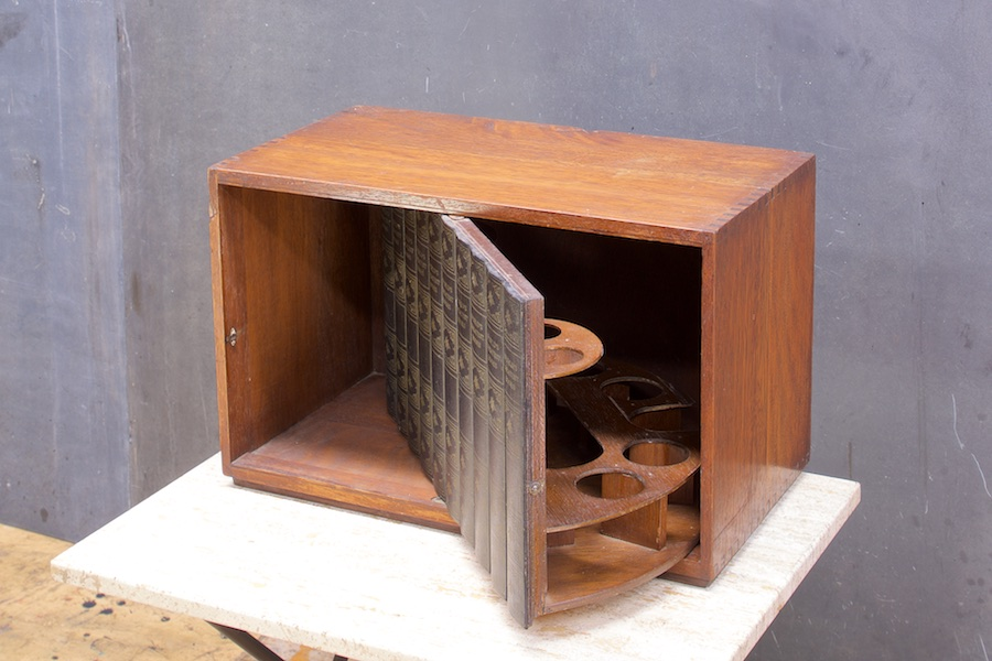 Prohibition Secret Book Liquor Cabinet | Modern 50 Artist ...
