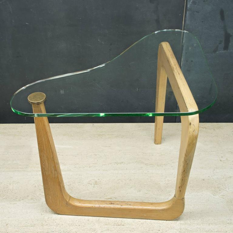 Louis Sognot Style Atomic Boomerang Table
