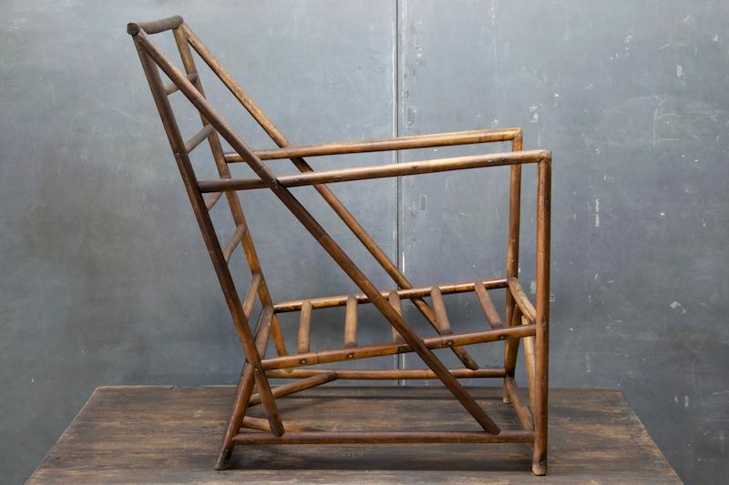 1930s rattan bauhaus club chairs charles perretti. Black Bedroom Furniture Sets. Home Design Ideas