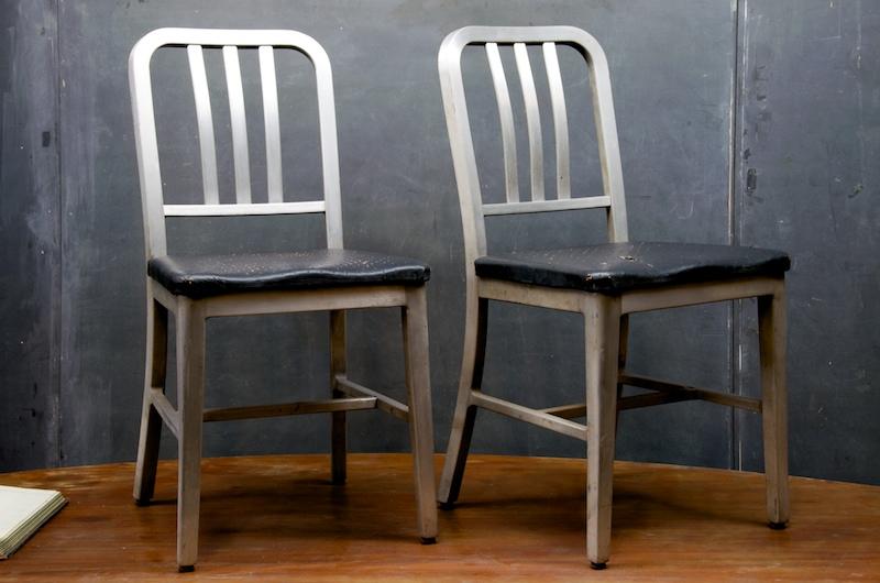 Goodform Aluminum Industrial Chairs